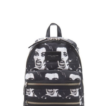 Printed Biker Backpack - Marc Jacobs