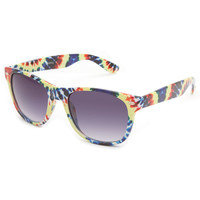 Blue Crown Grateful Tie Dye Classic Sunglasses Multi One Size For Men 23406695701
