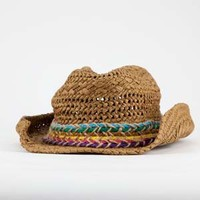 Multicolored Band Straw Cowboy Hat 190685400 | Hats | Tillys.com
