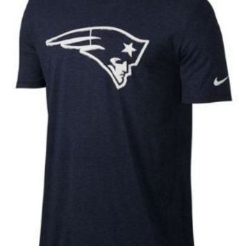 NFL New England Patriots Mens Nike Fresh Stamp T-Shirt