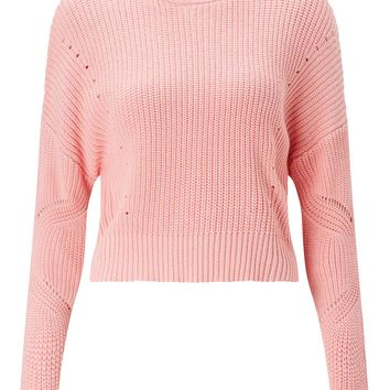 PETITE Fisherman Knit Jumper - View All - Clothing