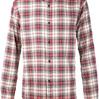 Band Of Outsiders plaid print shirt