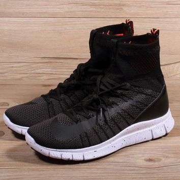 Nike Free Flyknit Mercurial Superfly Black Running Shoes - Best Deal Online