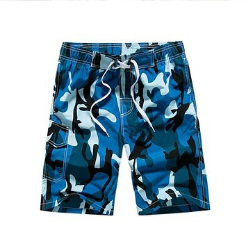 Summer Swimsuit Men Shorts Beach Quick Dry Loose Clothing