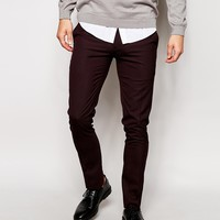 ASOS Super Skinny Fit Smart Pants