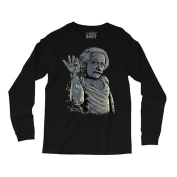 albae einstein Long Sleeve Shirts