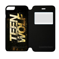 Teen Wolf White iPhone 6 Plus/6S Plus Flip Case | casefantasy