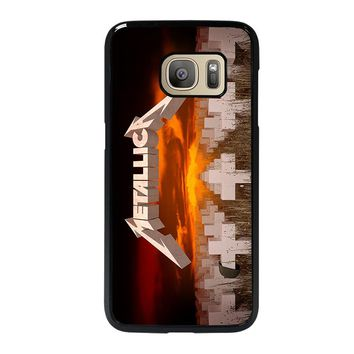 METALLICA MASTER OF PUPPETS Samsung Galaxy S7 Case Cover