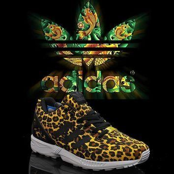 Adidas Zx Flux Leopard Edition