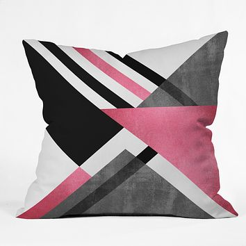 Elisabeth Fredriksson Foldings Throw Pillow