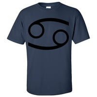 Cancer Astrology Symbol Asst Colors T-shirt/tee