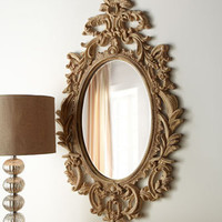 "Oval ""French"" Mirror - Horchow"