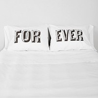 The Rise And Fall Forever Pillowcase - Set Of 2 - Urban Outfitters