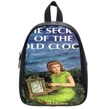 The Secret Of The Clock School Backpack Medium