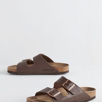 Birkenstock Boho Strappy Camper Sandal in Brown