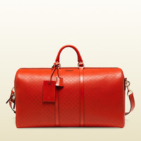 bright diamante leather carry-on duffle bag 355639AIZ1G6516