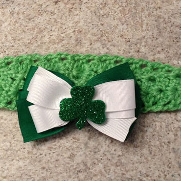 St. Patricks Day Baby Headband