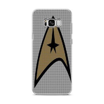 Star Trek Logo Crochet Pattern Samsung Galaxy S8 | Galaxy S8 Plus Case