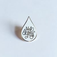 MALE TEARS cloisonné enamel pin