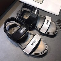 Boys & Men Gucci Fashion Casual Sandals Shoes