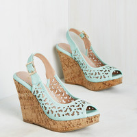 Time Heels Everything Wedge | Mod Retro Vintage Heels | ModCloth.com