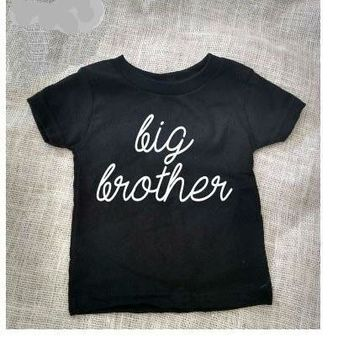 Big Brother Baby Kid Child Toddler Newborn T-shirt