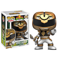 Funko POP! Television: Power Rangers Mighty Morphin 3.75 inch Vinyl Figure  - White Ranger