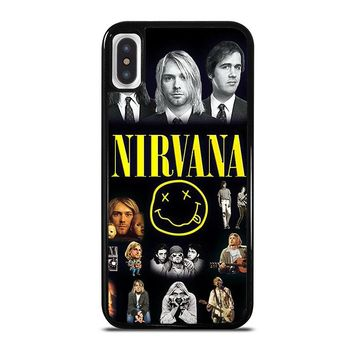 NIRVANA iPhone X Case Cover
