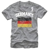FIFA 2014 World Cup Soccer - Germany Flag - T-Shirt