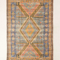 Alder Overdyed Printed Jute Rug - Urban Outfitters