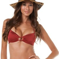 VOLCOM SOLID INTUITION CROP HALTER > Womens > Clothing > Swimwear | Swell.com