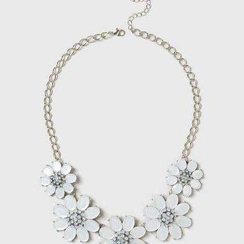 Floral Statement Necklace - View All New In - New In