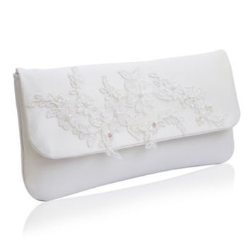 Felicity Ivory Clutch
