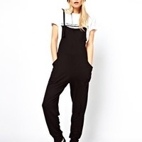 ASOS Dungarees with Slouch Back Detail at asos.com