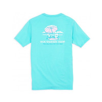 Southern Tide The Sea Will Set You Free T-Shirt in Crystal Blue - Brother's on the Boulevard