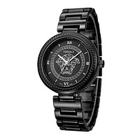 Versace Watch Popular Ladies Men Casual Quartz Movement Watch Full black