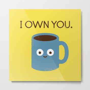 Coffee Talk Metal Print by David Olenick