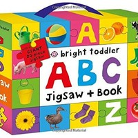 Bright Toddler - ABC Jigsaw and Book Set Bright Toddler PZZL GAM/B