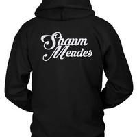 Shawn Mendes Title Hoodie Two Sided