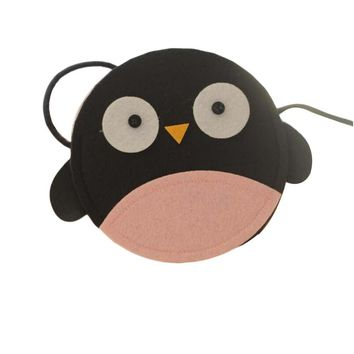 Penguin Handmade Kids Non-woven Fabric Small Shoulder Bag Baby Purse Daily Wear
