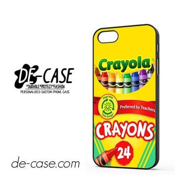 Crayola Crayons Colorful DEAL-2841 Apple Phonecase Cover For Iphone 5 / Iphone 5S