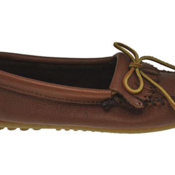 ® Kilty Moccasin - Caramel Deer Leather