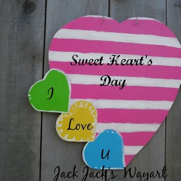 Year End Sale Custom Valentine door hanger Be Mine sign Valentine sign Out door decor Sweetheart sign Valentine © Jack Jack's Wayart