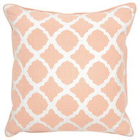 Claire Blush Pillow design by Villa Home