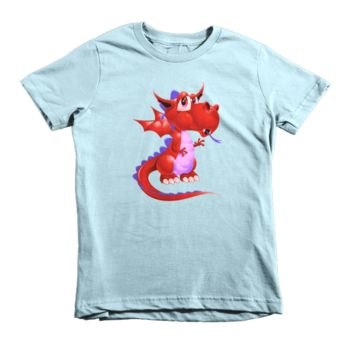 Draco Red Short sleeve kids t-shirt