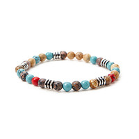 Mixed Bead Stretch Bracelet