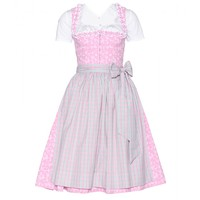 lanz - mytheresa.com exclusive mieder dirndl with grete blouse and printed cotton apron