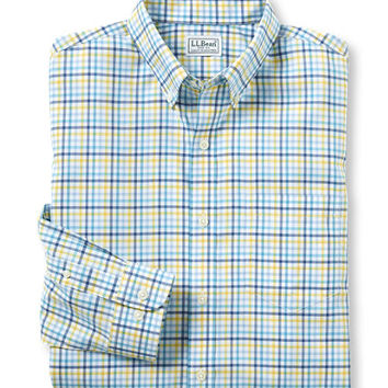 Men's Wrinkle-Free Kennebunk Sport Shirt, Slightly Fitted Check | Free Shipping at L.L.Bean