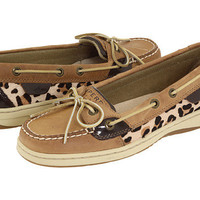 Sperry Top-Sider Angelfish Linen/Leopard Pony - Zappos.com Free Shipping BOTH Ways