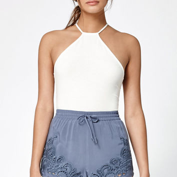 Kendall and Kylie Appliqué Soft Shorts at PacSun.com